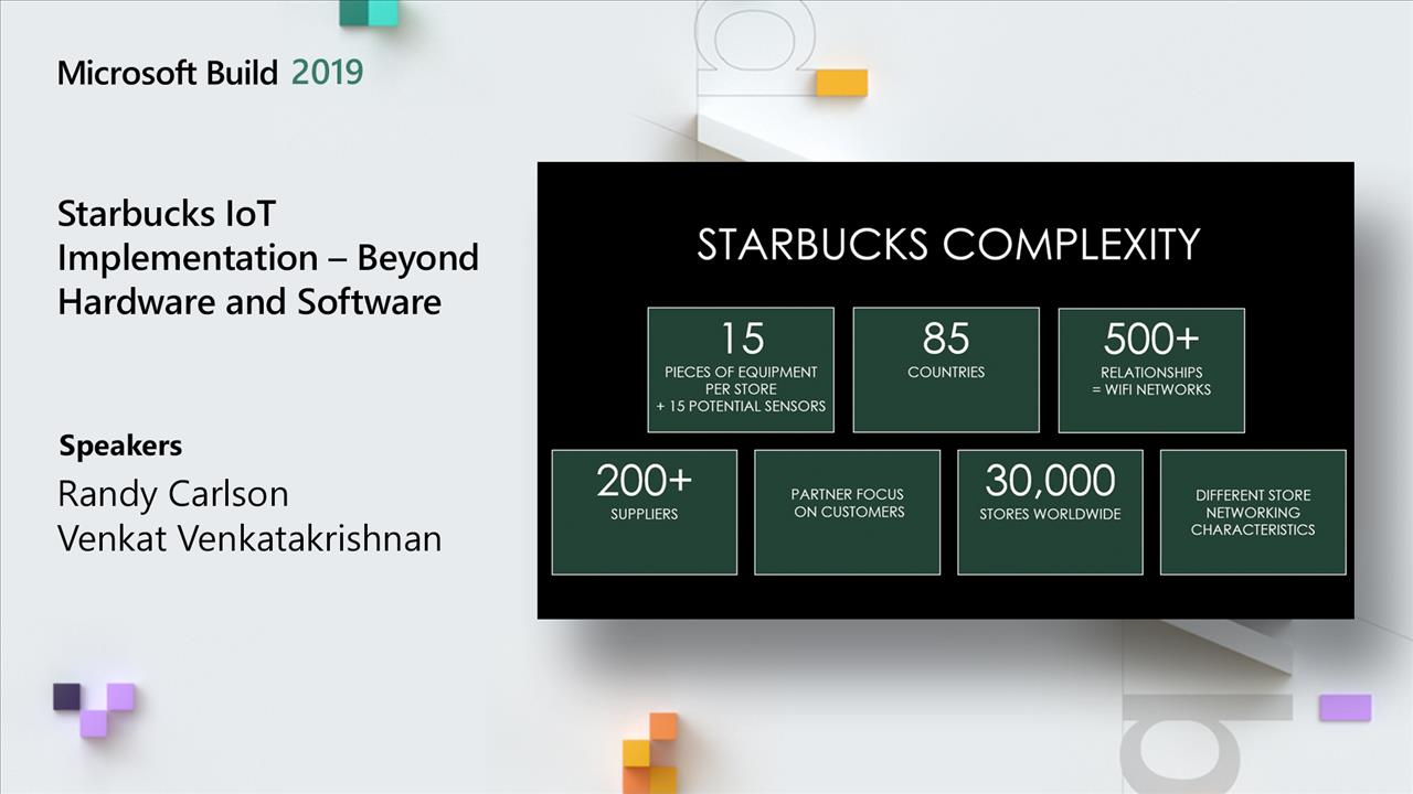 Starbucks IoT Implementation – Beyond Hardware and Software